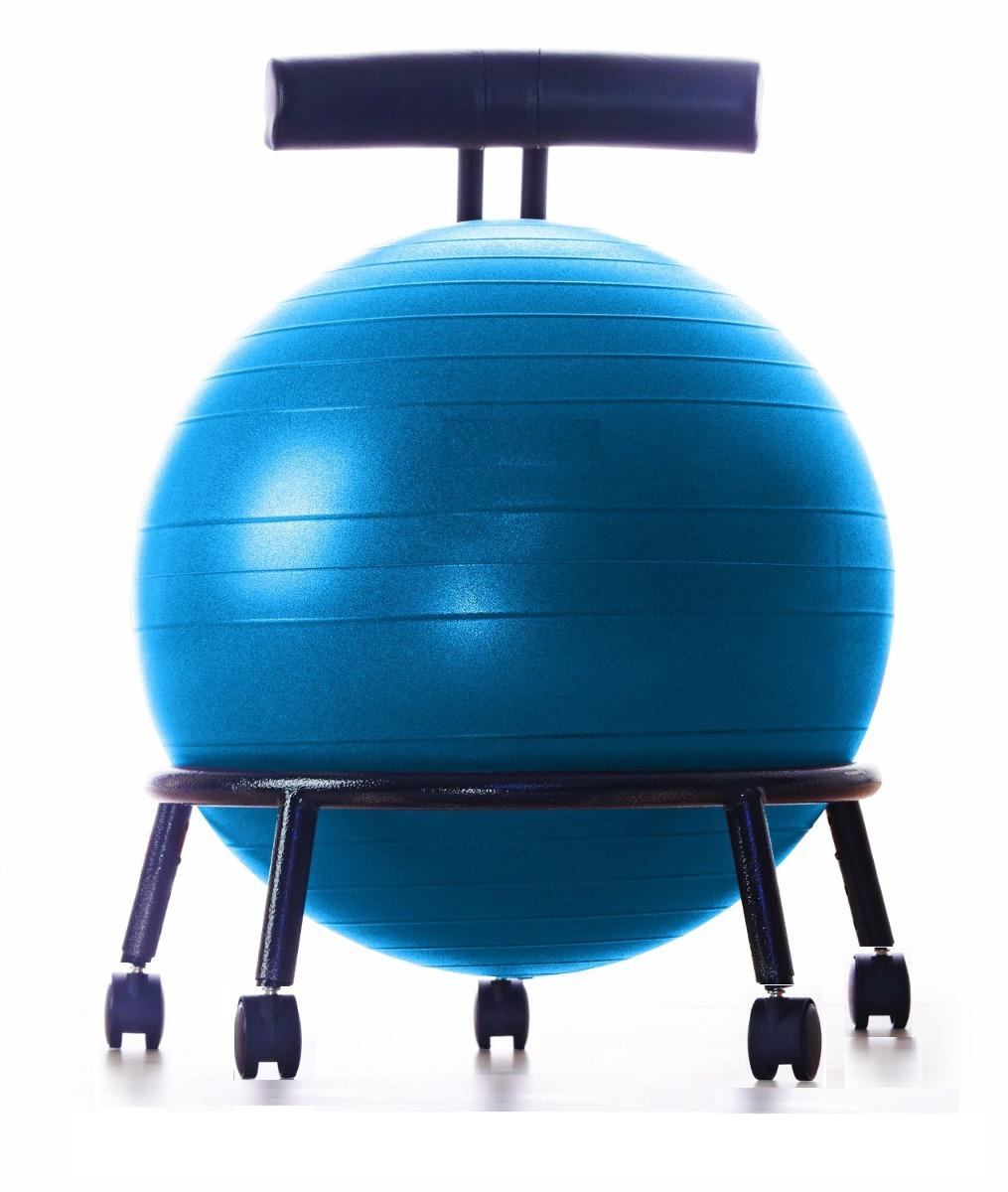 silla pelota yoga para oficina y ejercicio pilates. Cargando zoom. 2b5e334b0959
