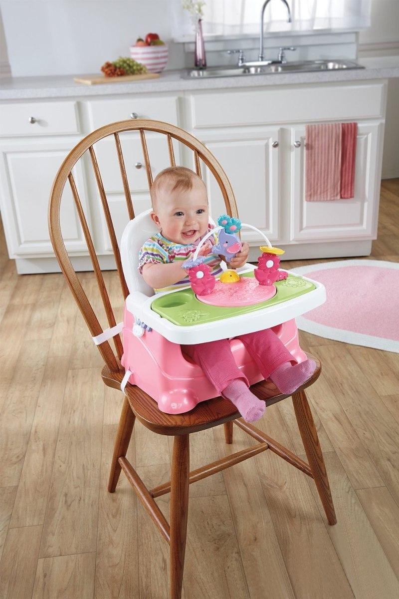 Booster fisher price silla periquera para ni a bebe en mercado libre - Silla de mesa para bebe ...