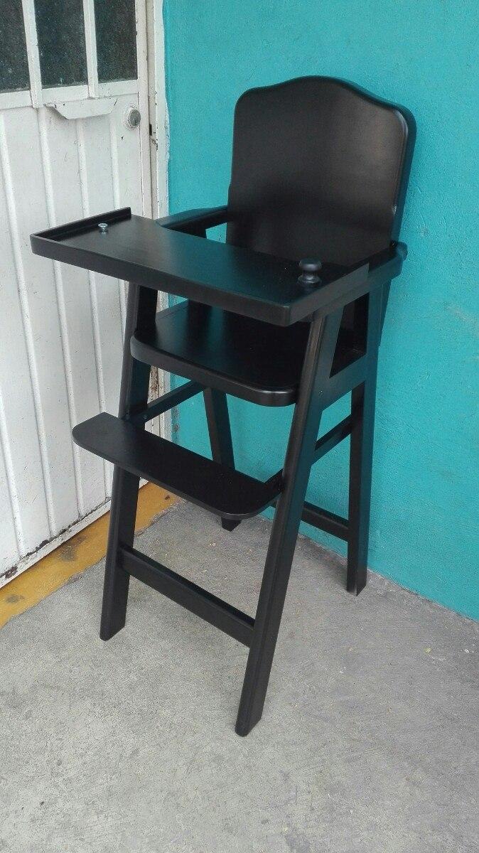 Silla periquera para beb en madera de cedro 1 for Precio de silla de bebe para auto
