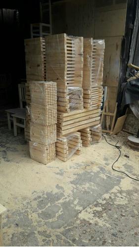 silla pino macizo reforzada bar resto