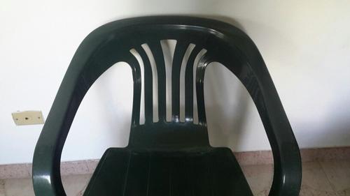 silla plastica