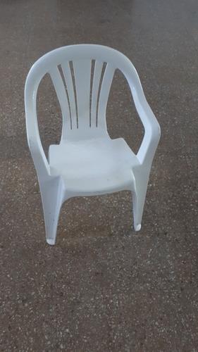 silla plástica