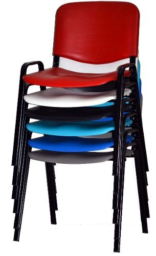 silla plastica apilable fija  directo de fabrica