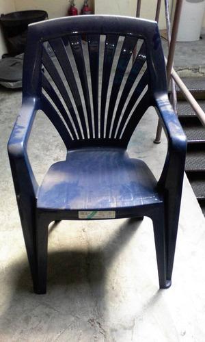 silla plastica manaplas galaxis. nueva.