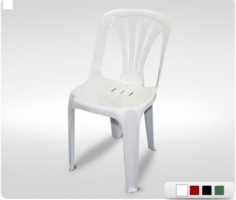 silla plástica reforzada modelo nikolas . plásticos munro