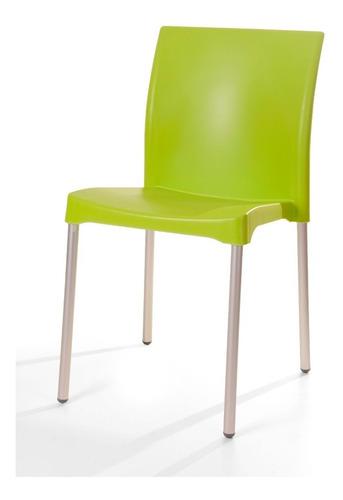 silla plástica restaurante paquete de 10 envío gratis