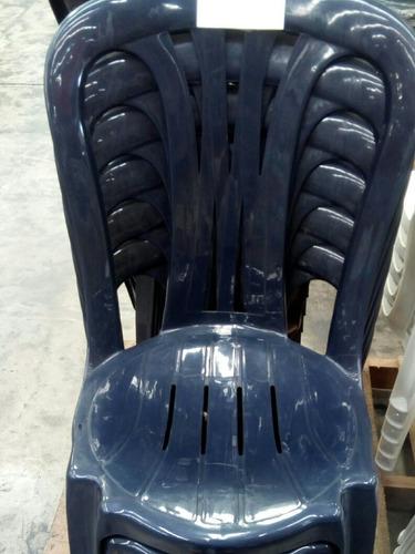 silla plastica sin aza posa brazo. excelente calidad!