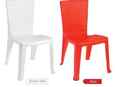 silla plastica varios colores