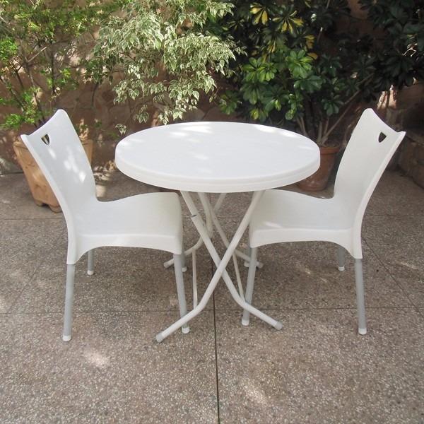 Silla plastico polipropileno patas aluminio comedor for Sillas comedor plastico