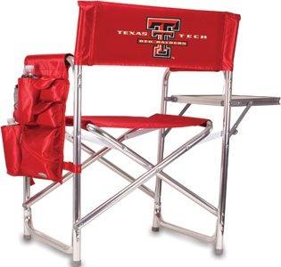 silla plegable al aire libre tiempo de picnic  texas tech s