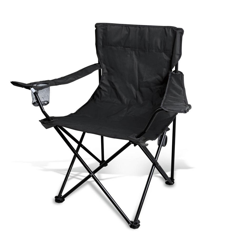 Negro Camping Con De Tipo Transporte Plegable Estuche Silla TlFKJc1