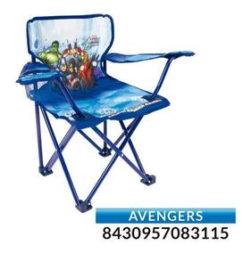 Hkitty Silla Avengers Peppa Plegable Camping Minnie Mickey f7ybgY6