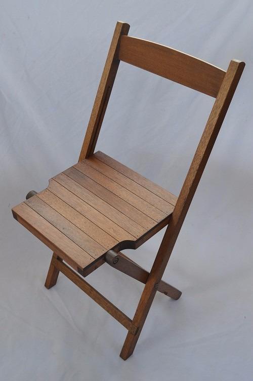 Silla plegable de madera para jard n terraza konetl for Sillas para terraza