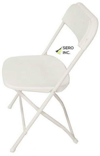 silla plegable de plástico