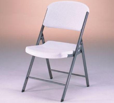silla plegable de plastico y acero lifetime gran durabilidad