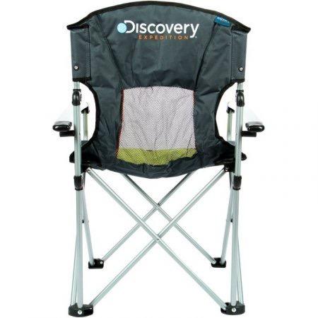 silla plegable discovery expedition verde con gris