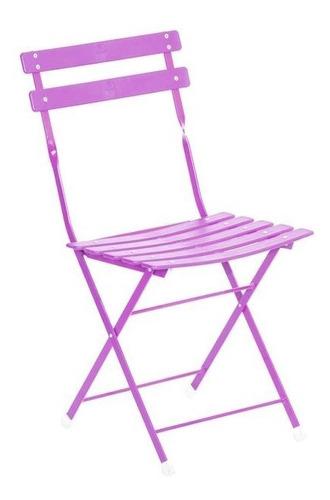 silla plegable hierro portatil directo de fabrica