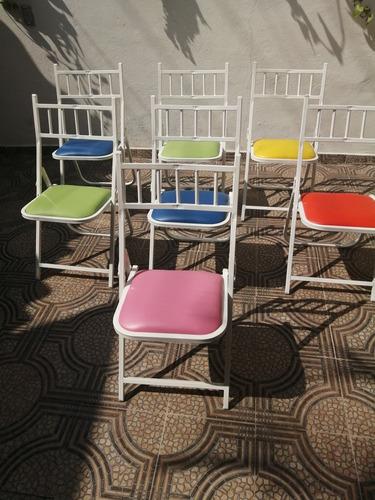 silla plegable mapat varios colores