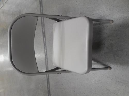 silla plegable metalica meco acero resistente