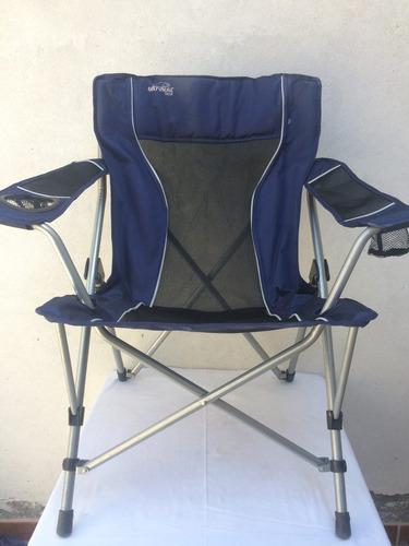 silla plegable para aire libre natural gear