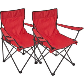 Silla Plegable Para Camping C/porta Vaso