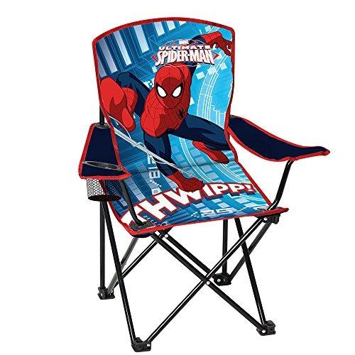 Apoyabrazos Silla Plegable Y Jóvenes Para Con Spiderman DH9WeE2YI