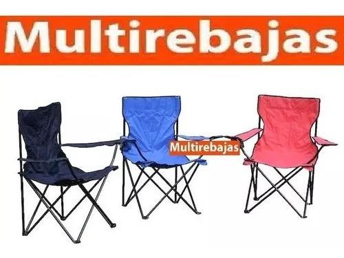 silla plegable para playa piscina camping pesca portavaso
