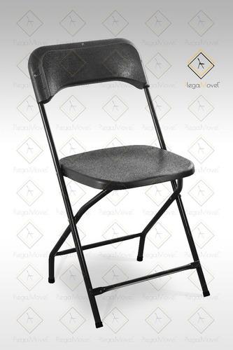 silla plegable plástico duro salones banqueteras eventos msi