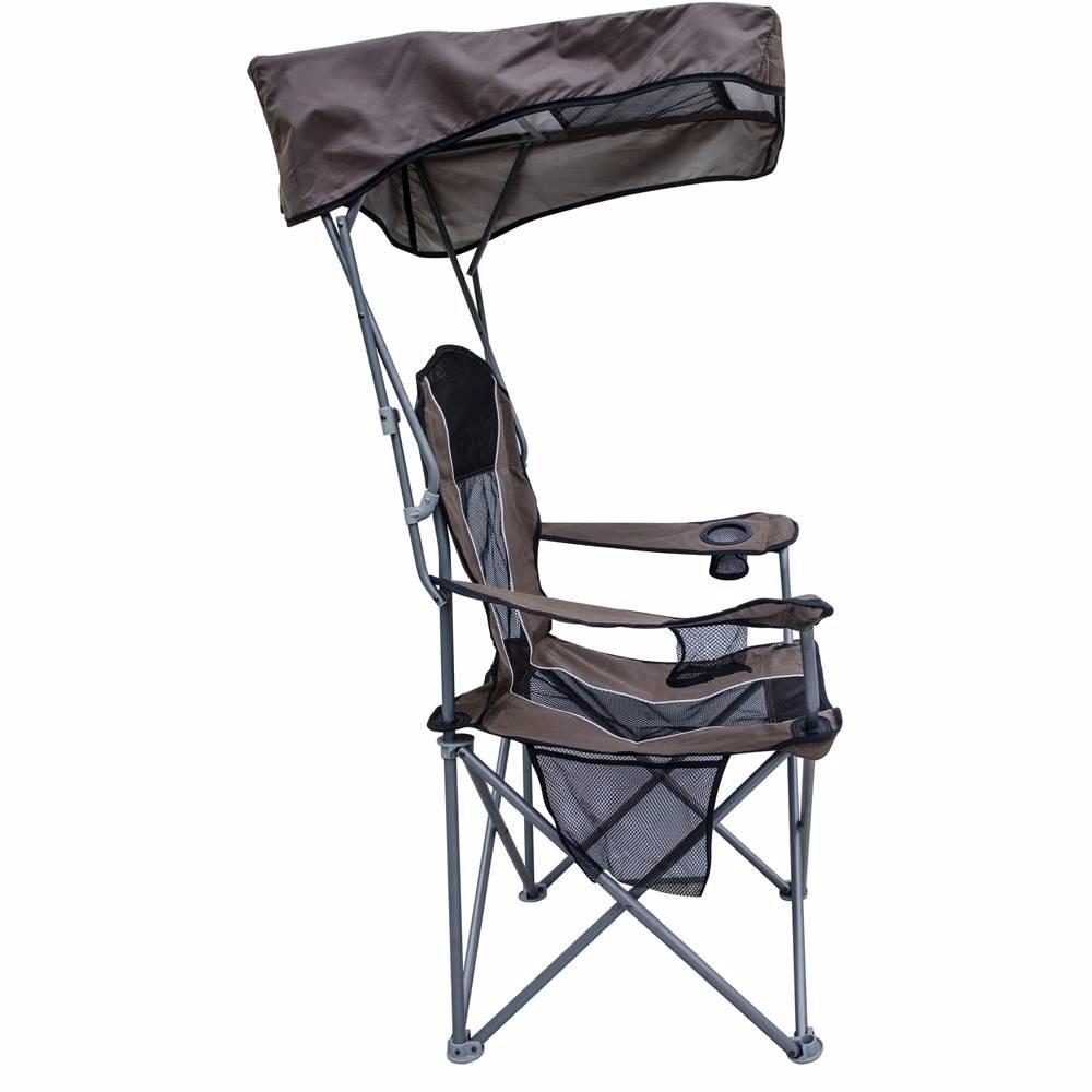 Silla plegable playa camping con descansa brazos y techo for Sillas para acampar walmart
