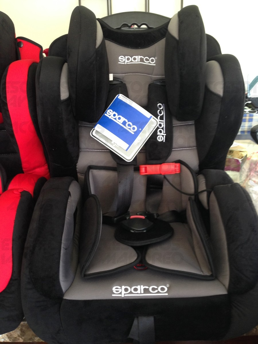Silla porta bebe autoasiento confortable sparco 100 original 4 en mercado libre - Silla bebe sparco ...