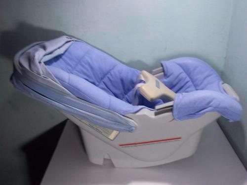 silla porta bebe c/ tapa sol p/ carro fisher price