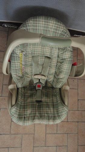 silla porta bebe con base para carro graco..