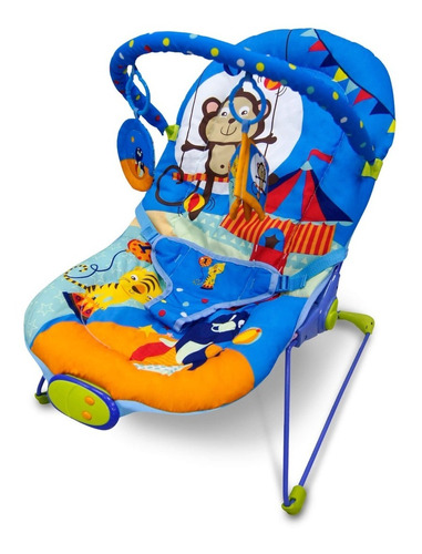 silla porta bebe mega baby música vibración barra juguet 9kg