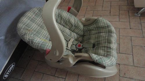 silla porta bebe para carro graco..