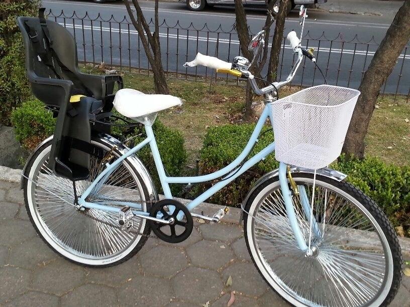 Silla porta bebe y parrilla para bicicleta r26 r28 r29 r700 en mercado libre - Silla portabebes bicicleta ...