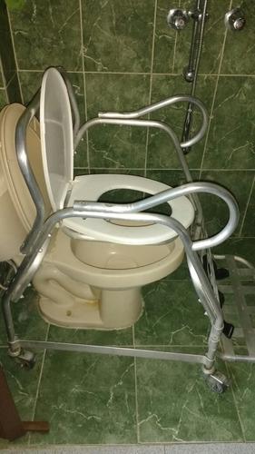 silla portátil cómoda para ir al baño
