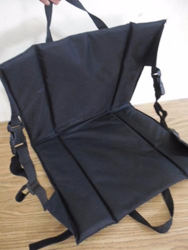 silla portatil mochila gradas futboll playa parque e754