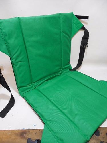 silla portatil mochila gradas futboll playa parque f150