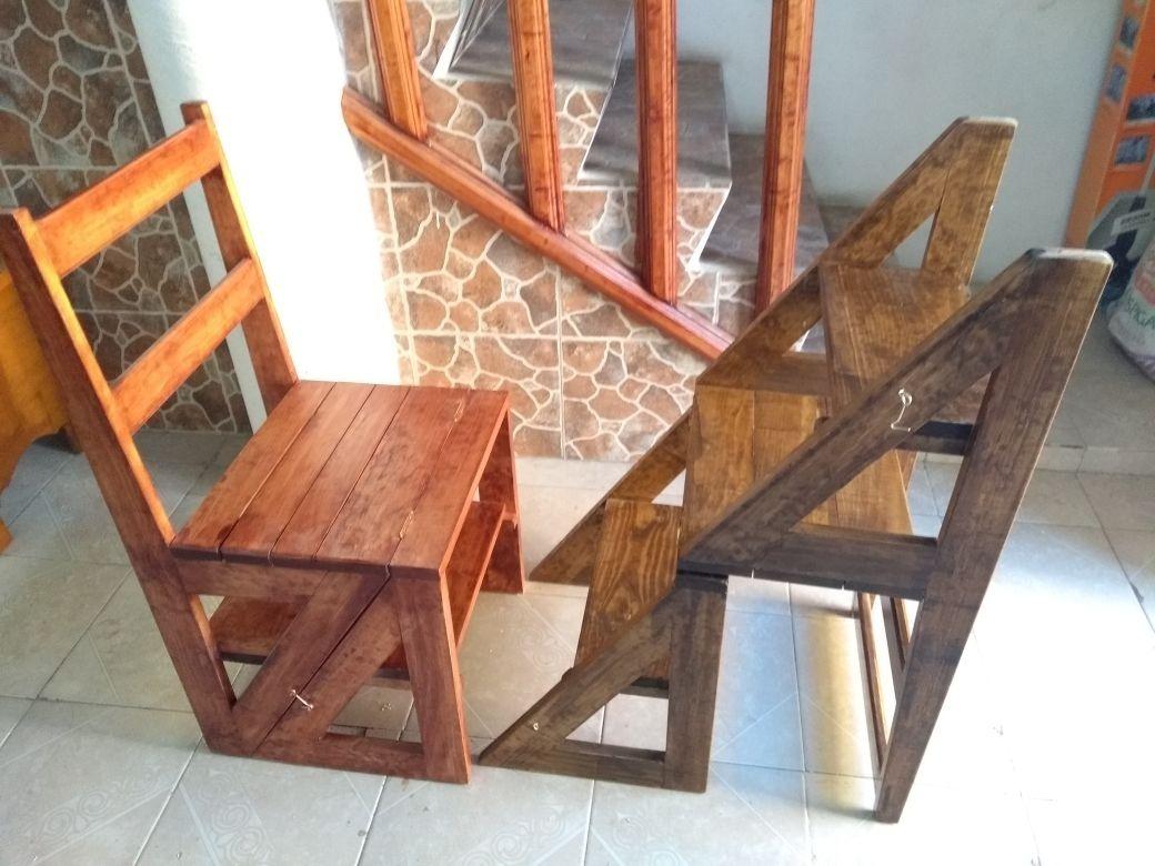 silla que se hace escalera 1 en mercado libre