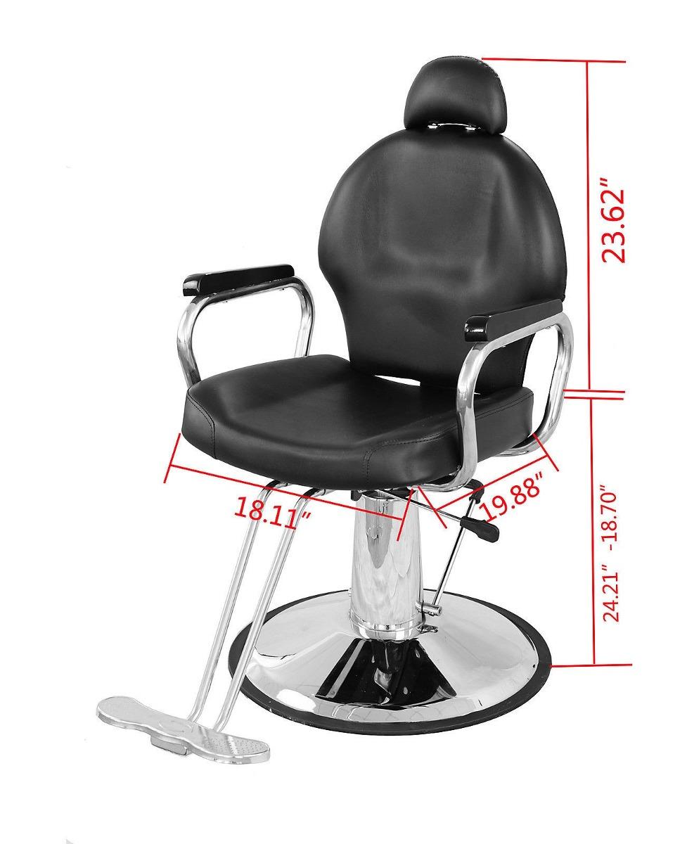 Silla reclinable estetica salon peluqueria barberia for Sillas para estetica