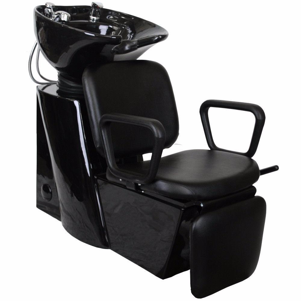 Silla reclinable lavabo shampoo lavacabeza estetica salon for Sillas para estetica