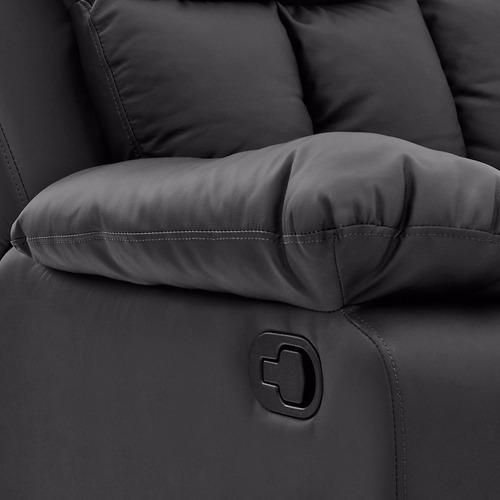 silla reclinable negro