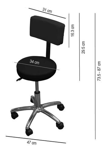 silla reclinable para faciales camilla con banco tatuaje spa depilacion tatoo fisioterapia