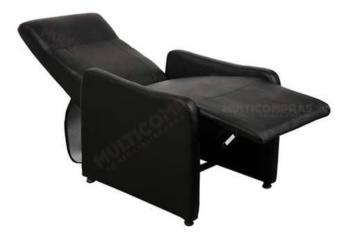 silla reclinable para sala mobiliario relajante acolchonada