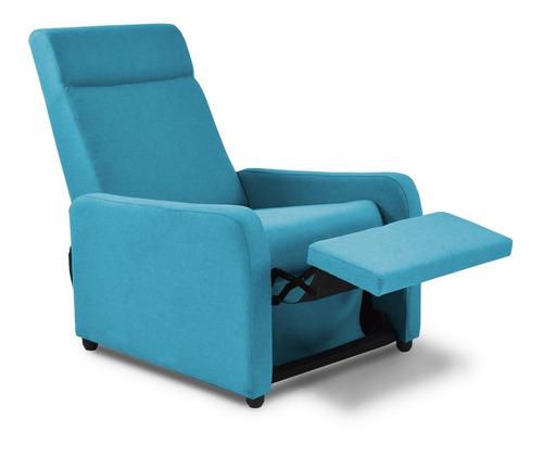 silla reclinable push arm praxis tela