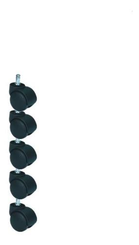 silla repuesto juego de 5 ruedas pcnolimit