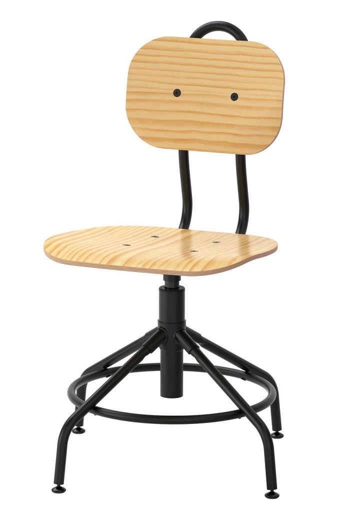 Ikea Acero Minimalista Y Silla Retro Madera Nvm8ny0wO