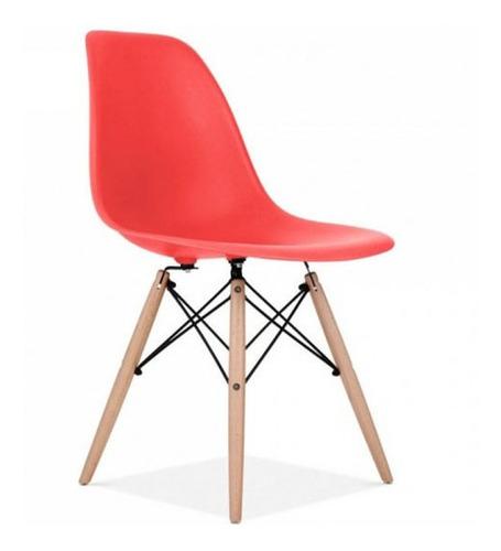 silla roja tipo eames dsw - tecsys tu tecnologia
