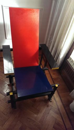 silla roja y azul gerrit rietveld