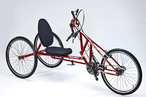 silla rueda competencia handbike bicicleta mano discapacidad